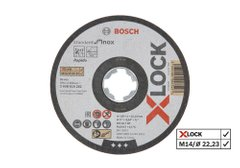 Відрізний диск Bosch X-LOCK Standard for Inox 125x1x22,23 мм