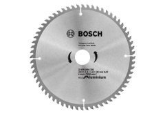 Пиляльний диск Bosch Eco for Aluminium, Ø 210x30-64T