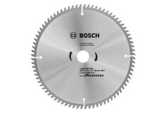Пильный диск Bosch Eco for Aluminium, Ø 254x30-80T
