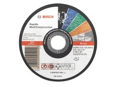 Отрезной круг Bosch MultiConstruction 115x1,0