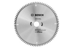 Пильный диск Bosch optiline ECO, Ø 254x30-80T
